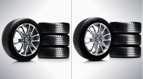 "V40 ""Freja"" 7 x 17"" Wheel & Tyre x4 package"